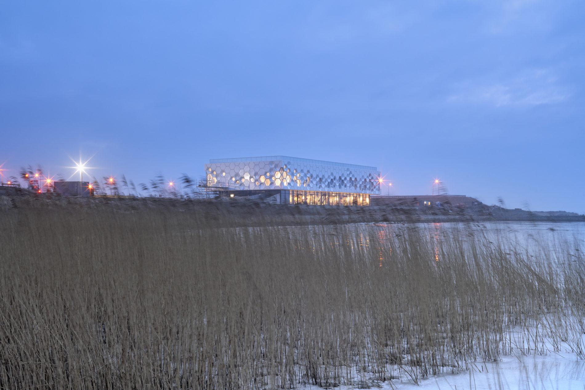 Afsluitdijk wadden center beleefcentrum GEAR Fotograaf Gerard van Beek