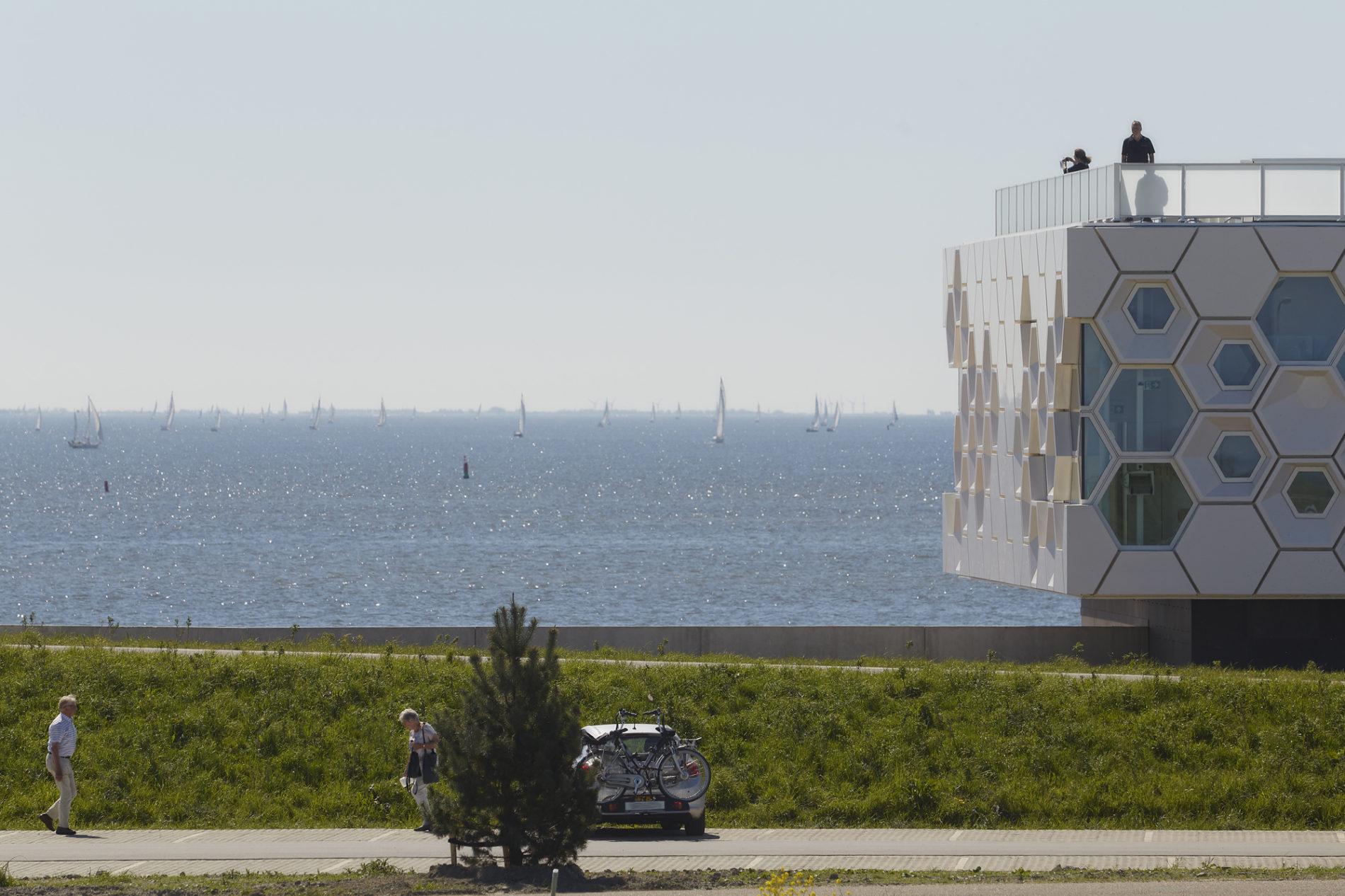Afsluitdijk wadden center beleefcentrum GEAR Fotograaf: Gerard van Beek