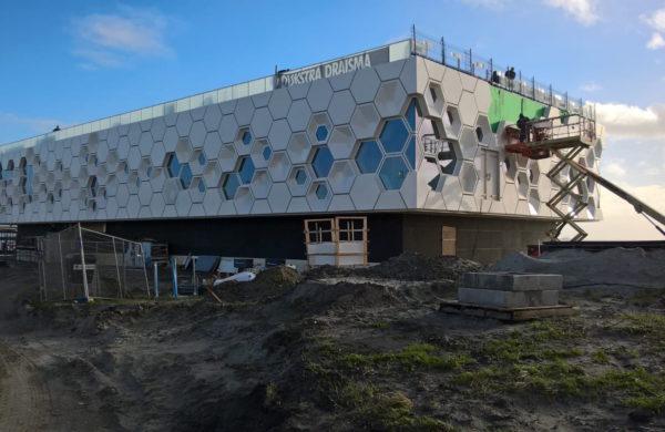 Afsluitdijk Wadden Center Kornwerderzand - foto E. Rodenhuis - Provinsje Fryslân